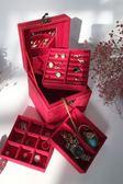 復古首飾盒歐式精致小號飾品盒公主簡約收納盒手飾盒珠寶盒化妝盒 {優惠兩天}