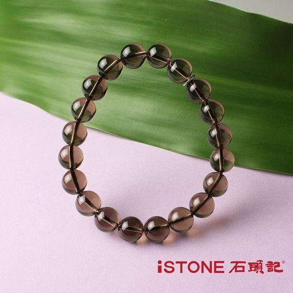 茶水晶手鍊-品牌經典-10mm 石頭記