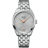 MIDO 美度 Belluna Royal真鑽機械女錶 M0243071107600