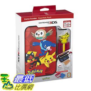 [106 美國直購] Nintendo 3DS Pokemon Sun & Moon Starter Kit with Pokemon Group and Pikachu Stylus for Nintendo 3DSXL