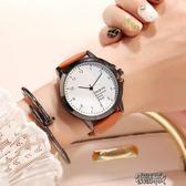 韓版原宿風手錶男女學生大錶盤情侶潮流夜光復古簡約日系 街頭布衣