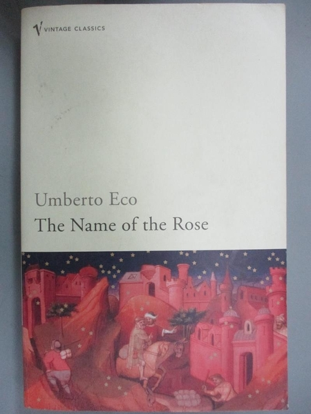 【書寶二手書T5/原文小說_JOF】The Name of the Rose_Umberto Eco