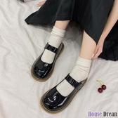 娃娃鞋 大頭鞋女2020新款日系可愛圓頭小皮鞋黑色軟妹洛麗塔厚底娃娃單鞋