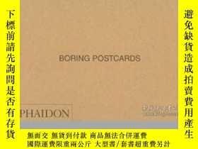 二手書博民逛書店Boring罕見Postcards UsaY255562 Martin Parr Phaidon Press