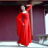 【熊貓】廣袖流仙裙古典舞表演服飄逸古裝唐裝漢服