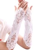 新娘結婚手套繡花結婚手套