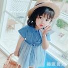 女童洋裝公主連身裙小童夏裝2020新款韓版女寶寶牛仔裙小女孩洋氣裙子 HR140【極致男人】