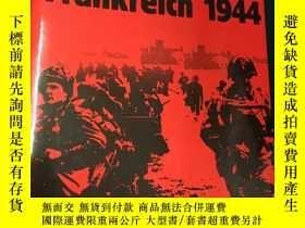 二手書博民逛書店Invasion:Frankreich罕見1944【入侵:194