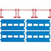 PLARAIL鐵道王國 火車配件 R-04複線直軌