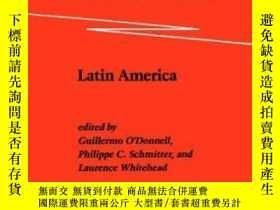 二手書博民逛書店Transitions罕見From Authoritarian RuleY364153 Guillermo O
