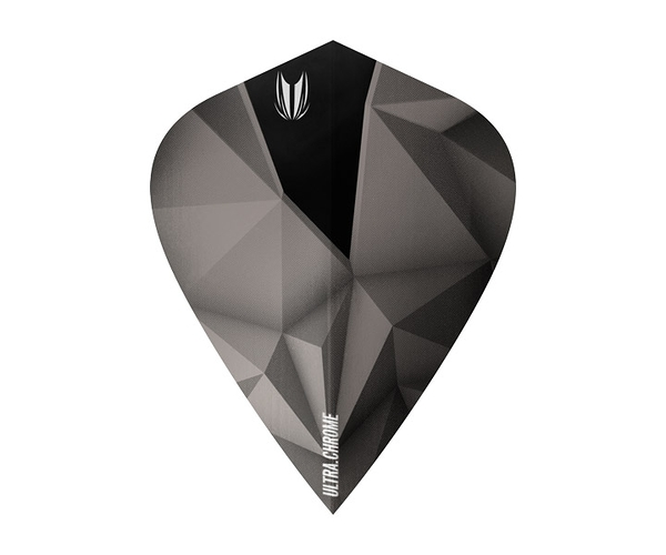 【TARGET】SHARD ULTRA CROME KITE Anthracite 333060 鏢翼 DARTS