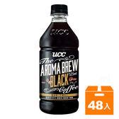 UCC艾洛瑪黑咖啡525ml(24入)x2箱【康鄰超市】