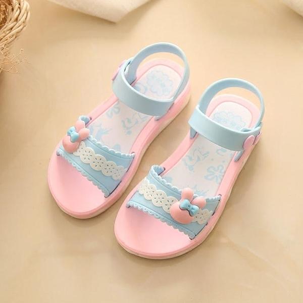 女童涼鞋 新款韓版兒童夏季寶寶涼鞋女 童鞋小孩防滑軟底 淇朵市集