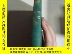 二手書博民逛書店ANNUAL罕見REPORTS SECTION B ORGANI