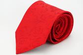 【Alpaca】紅色玫瑰花領帶