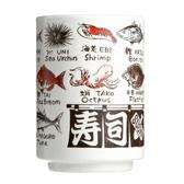 日本湯吞杯-魚