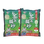 IRIS 日本 天然綠茶茶葉豆腐貓砂(OCN-70) 7L X 2包