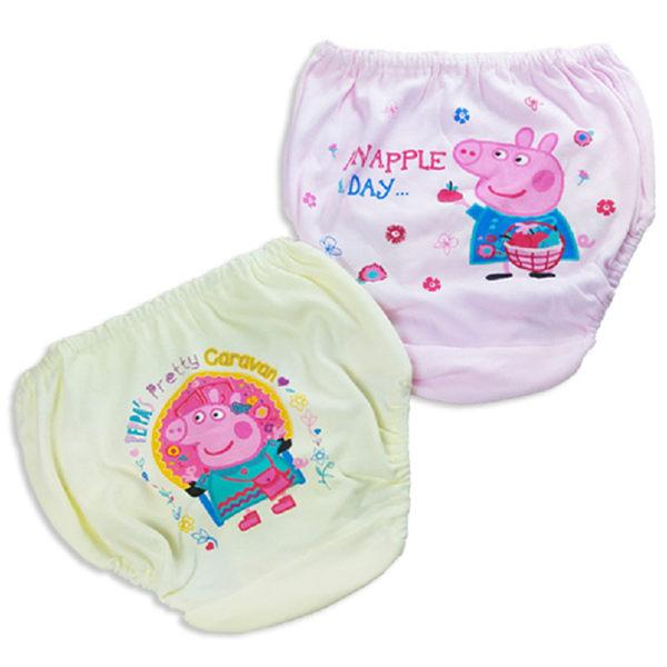 兒童內褲  粉紅豬小妹 佩佩豬 女童內褲(兩入一組) 台灣製造  日月星媽咪寶貝館