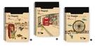 【筆坊】青青文具 CM-1858 貓行李系列 18K綜合萬用旅遊手札
