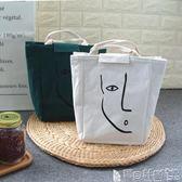 保溫便當盒 便當袋手提包可愛清新韓版保溫帆布飯盒袋學生午餐盒包手拎媽咪包 寶貝計畫