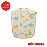 MIKI HOUSE BABY 日本製 可愛動物保暖防踢被