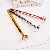 鑽石筆 原子筆 權仗筆 水鑽筆 禮物 鑽石造型 好寫 便宜 實用 辦公用品 文具 筆 水性【歐妮小舖】