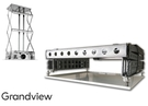 《名展影音》加拿大 Grandview GPSC-5006 X 支臂超薄電動升降架