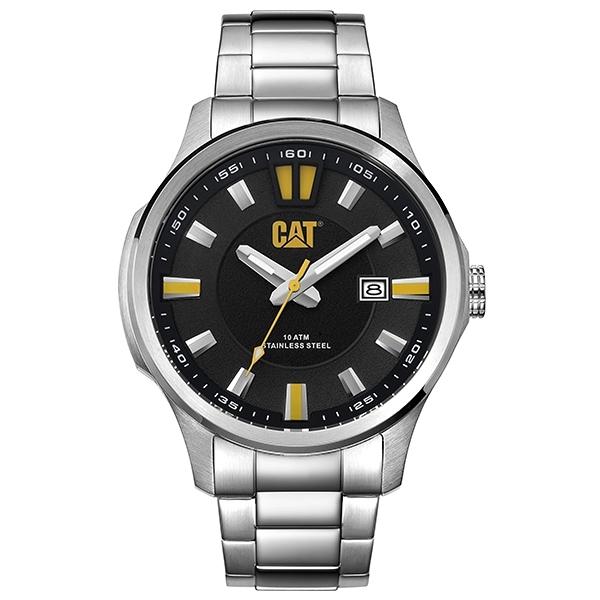 【CAT Watch】MAVERICK時尚日期潮流鋼帶腕錶-質感銀/AG.141.11.122/台灣總代理公司貨享兩年保固