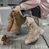 馬丁靴 新款chic機車秋季英倫ins學生冬季短靴女靴秋單靴 df3687【潘小丫女鞋】