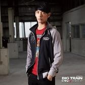 Big Train 配色棒球外套-男-黑色-B3016788(領劵再折)