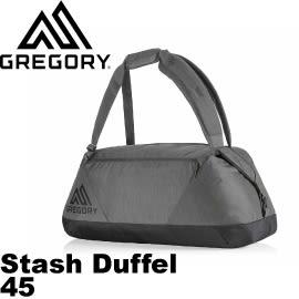 【GREGORY 美國 Stash Duffel 45 黑色】75501/健行包/登山背包/自助旅行/休閒旅遊★滿額送