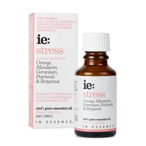 澳洲第一大品牌怡森氏IN ESSENCE 壓力解放複方純精油25ml 澳洲精油認證