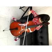 ★二手品出清★大提琴1/4 九成新含琴套/弓/松香~僅此一把 原價12XXX限自取
