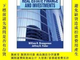 二手書博民逛書店Real罕見Estate Finance & Investments (int l Ed)Y307751 Wi