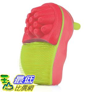 [106美國直購] Scrub Bugs 868564000122 兒童洗手訓練刷-紅 Hand Scrubber Sponge (Punch/Lime)