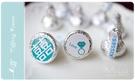 幸福朵朵【Tiffany婚禮主題─KISSES水滴巧克力(每包100顆)】-創意喜糖婚禮小物(5包以下賣場)