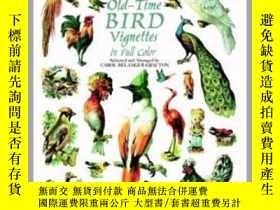 二手書博民逛書店Old-Time罕見Bird Vignettes in Full