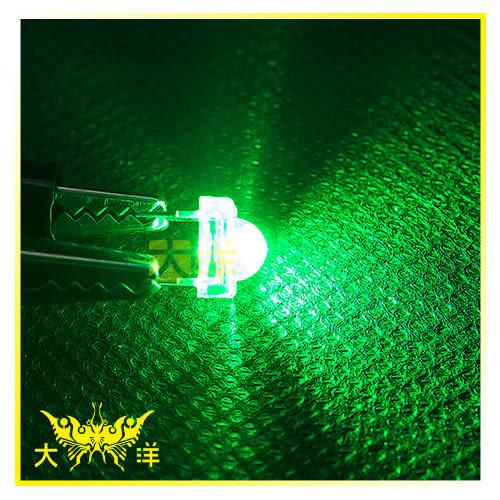 ◤大洋國際電子◢ 食人魚5mm 綠色 高亮度LED (100PCS/包) 0631-G-A 二極管 LED