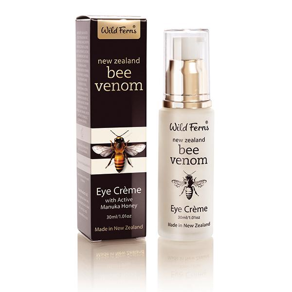 活性麥蘆卡蜂萃Bee Venom眼霜30ml Wild Ferns 蜂毒眼霜