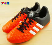 ADIDAS ACE 15.4 FX GJ 短釘足球鞋《7+1童鞋》7140橘色
