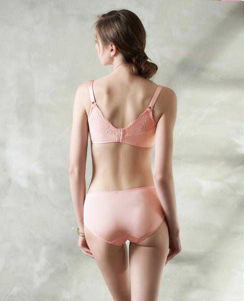 EASY SHOP-唯戀開運 大罩杯B-F罩內衣(粉漾橙)