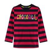 『小鱷魚童裝』多元條紋T恤(08號~18號)532421