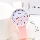 正韓手錶夏日手錶女學生果凍錶運動硅膠可愛女孩糖果色卡通手錶中學生手錶 快速出貨