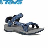 【TEVA 美國 女 Terra Fi L 織帶涼鞋 閃電藍】1001474TNB/運動涼鞋/涼鞋/休閒涼鞋★滿額送