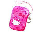 Hello Kitty 凱蒂貓 SKS-210 精巧數位防護袋 相機包- 繽紛紅