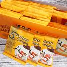 印尼零食Five洋芋薄脆餅(BBQ口味)600g_30入*12盒/箱【0216零食團購】8994391013799-B