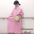 ■Samansa Mos2■  融入春夏色系 自然系女孩感 素面設計 簡約樸素 一件完成外出穿搭