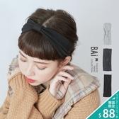 髮帶 純色棉質料蝴蝶結髮飾-BAi白媽媽【196348】