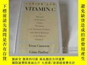 二手書博民逛書店Cancer罕見And Vitamin C: A Discuss