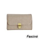 側背包 - 多夾層金屬插釦信封包/手拿包/側背包 Fascine [W7032-98]